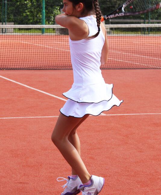 johanna white tennis dress