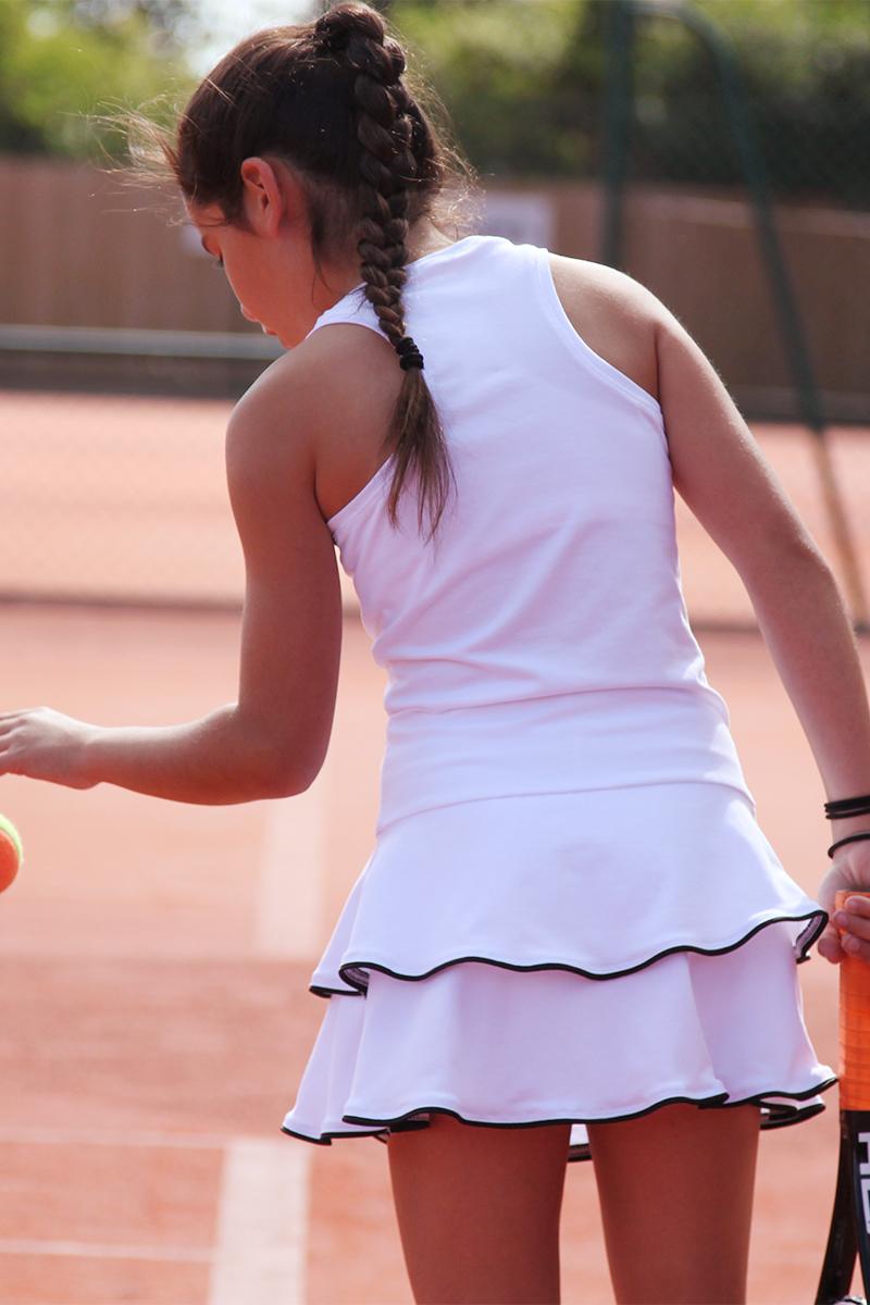 johanna girls white tennis dress zoe alexander girls tennis clothes