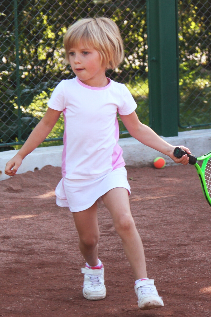 Dominika Tennis Outfit White By Zoe Alexander Uk Junior Tennis Apparel
