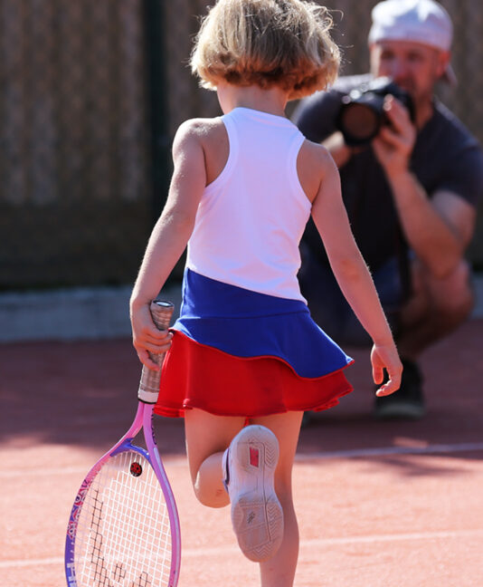 elena tennis dress by zoe alexander