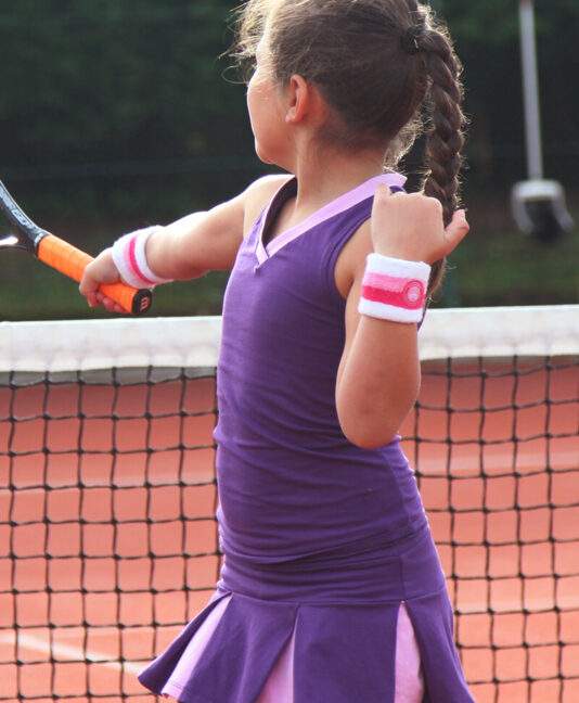 purple tennis top and skirt zoe alexander tennis clothing girls