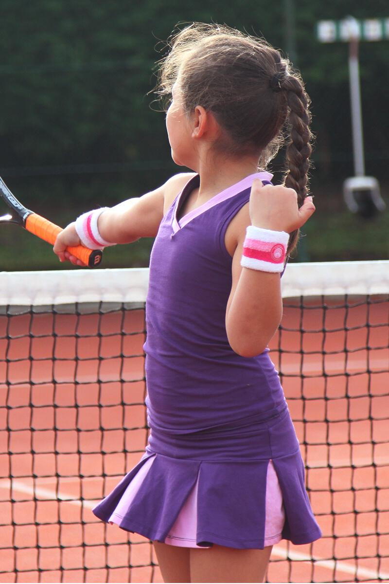 purple tennis top and skirt zoe alexander tennis clothing girls