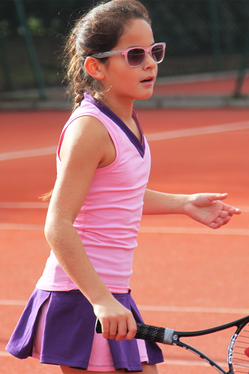 Pink Garbine Tennis Outfit by Zoe Alexander