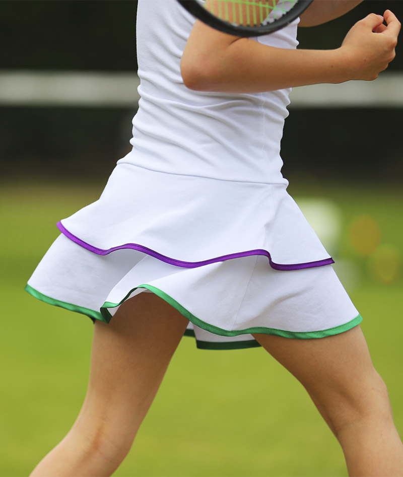 wimbledon white tennis dress zoe alexander