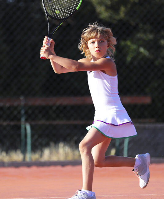 girls white wimbledon tennis dress zoe alexander uk