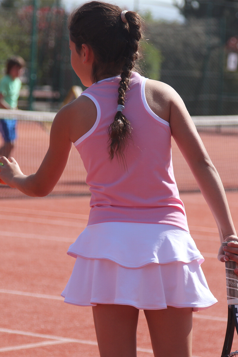 pink tennis dresses girls tennis clothes zoe alexander uk