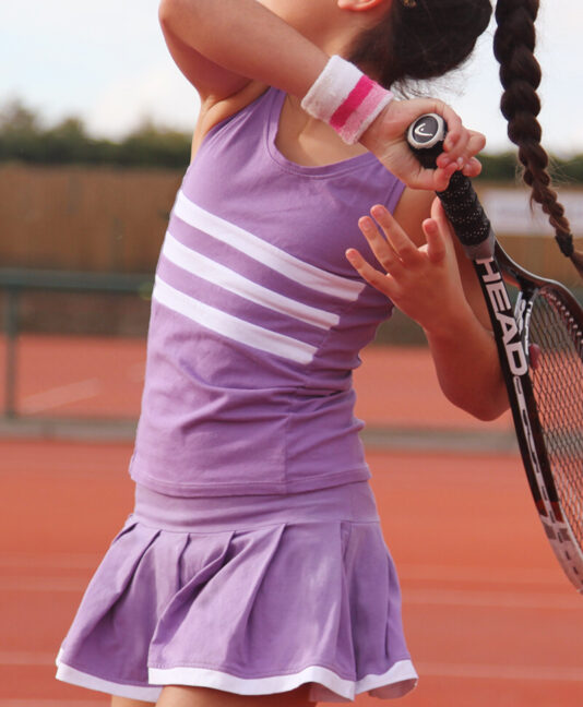 madison triband tennis outfit