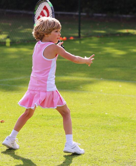 pink tennis skirts zoe alexander