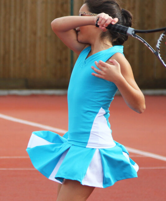 simona tennis outfit zoe alexander