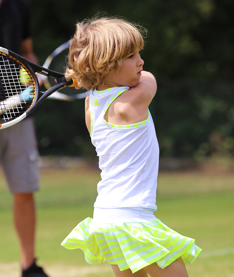 stripe tennis dress outfits zoe alexander