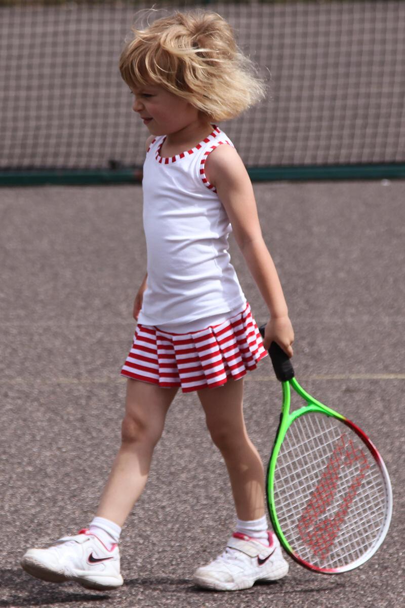 Junior Tennis Apparel Designed By