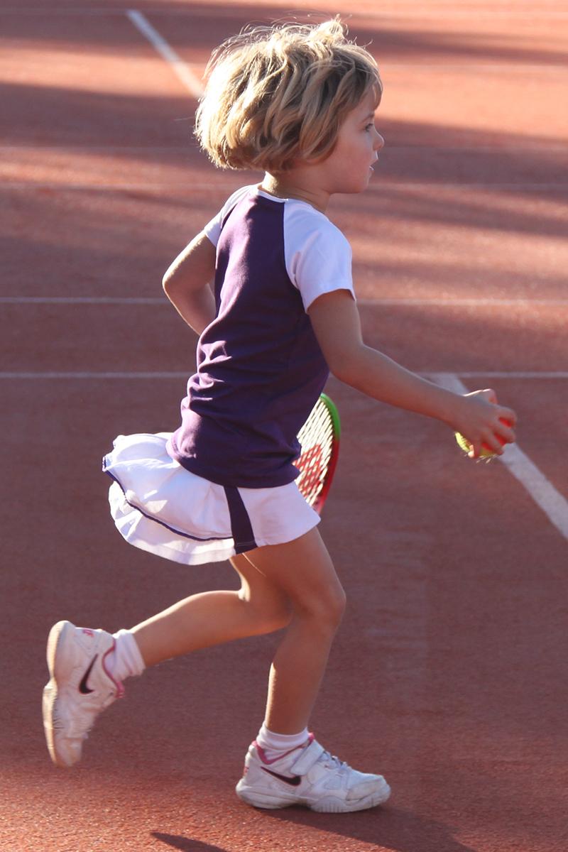 Raglan Tennis Outfit Svetlana - Junior Tennis Apparel by Zoe Alexander UK