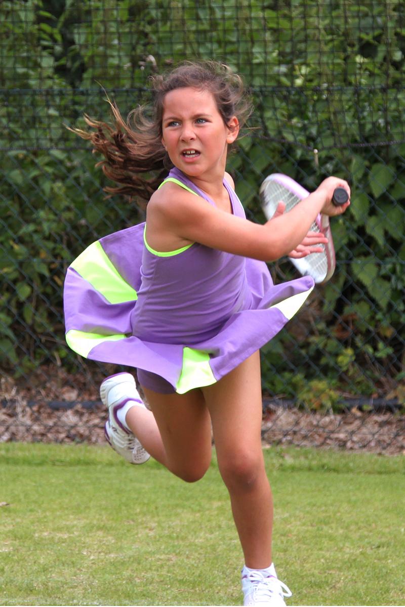 light purple victoria tennis dress by zoe alexander