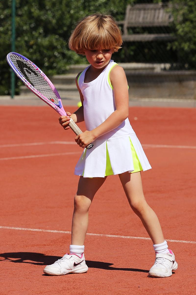 Victoria White Tennis Dress
