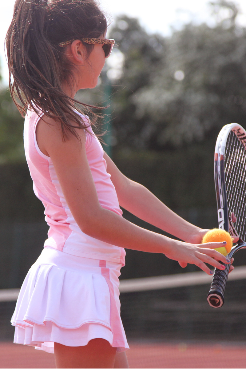 Tennis clothes for older women