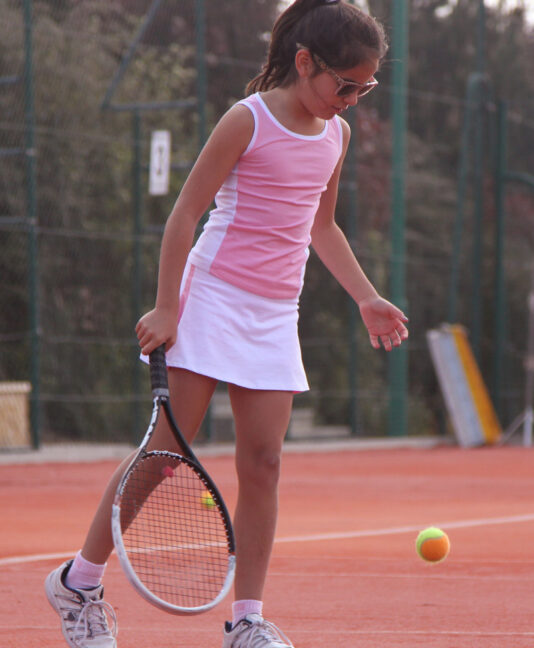 pink tennis tops girls white skirts zoe alexander