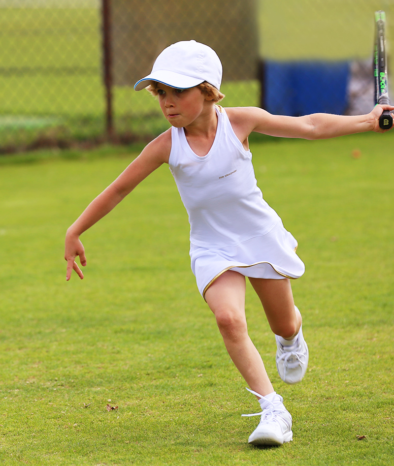 white tennis dress for wimbledon by zoe alexander