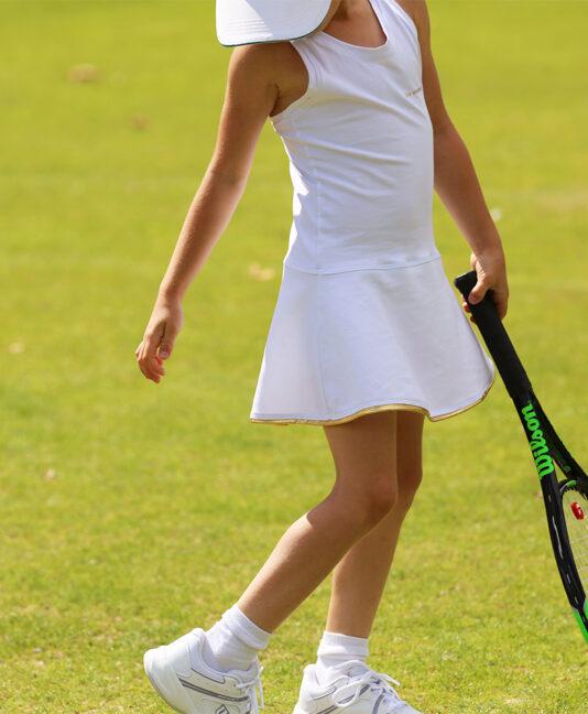 tennis dresses for girls white uk zoe alexander