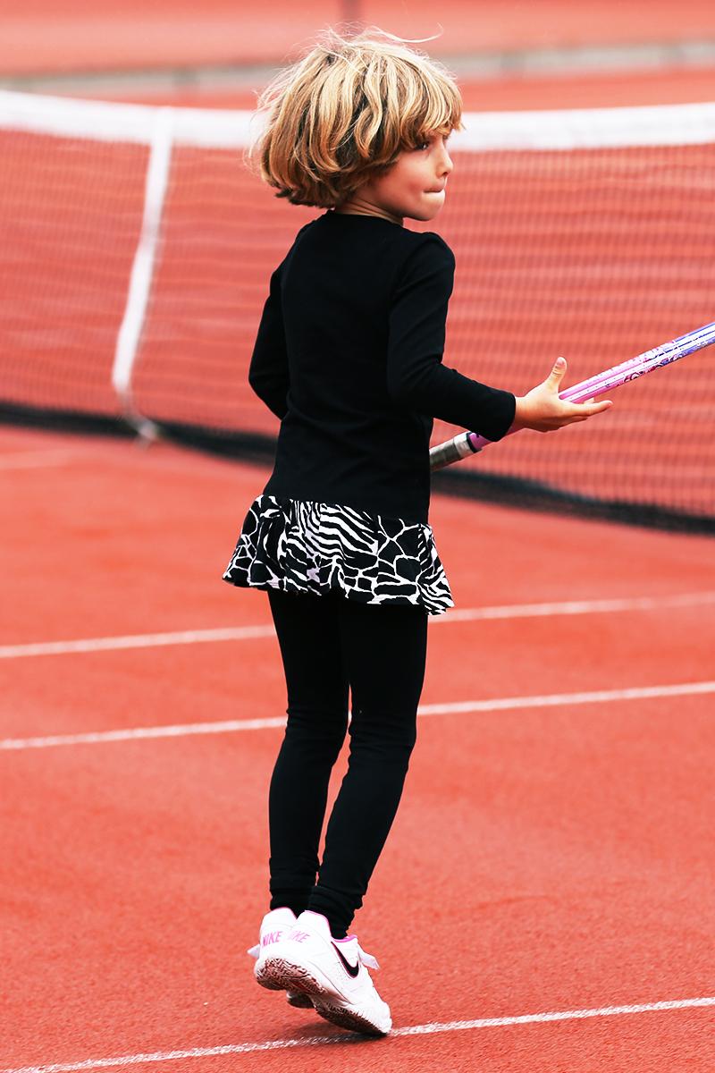 animal print tennis dress