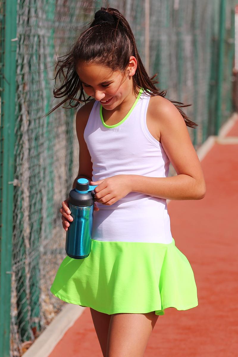 White Tennis Dresses Zoe Alexander