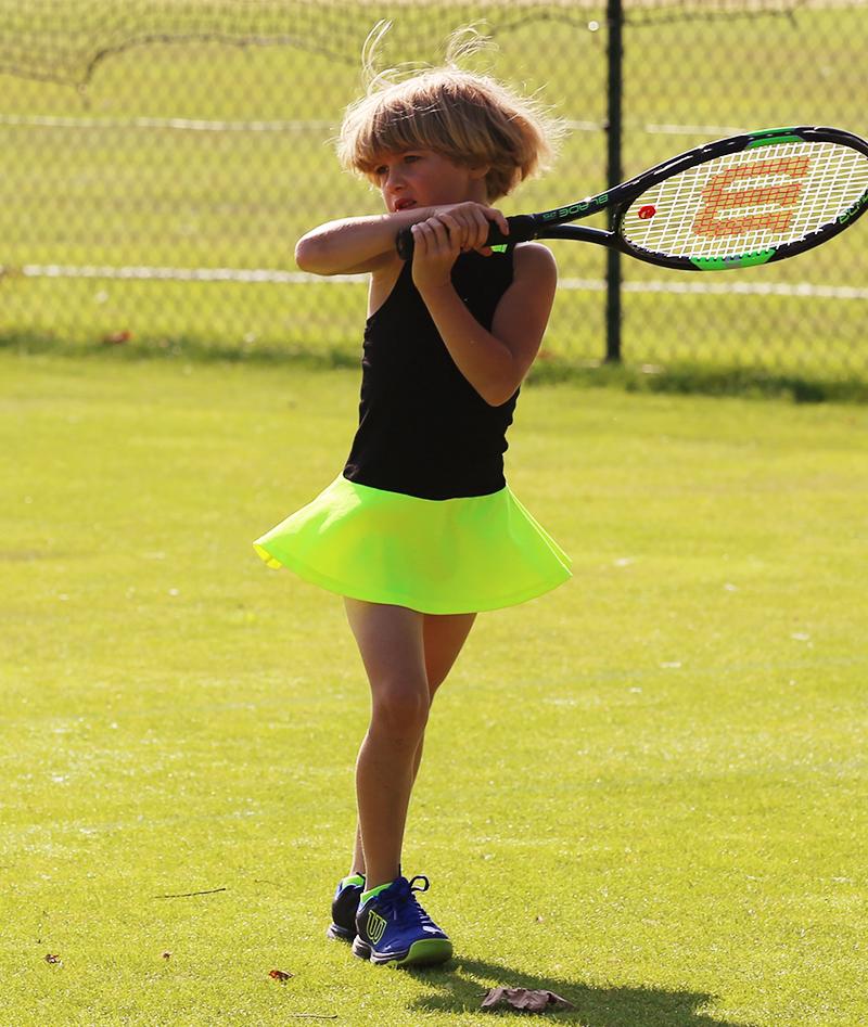 neon tennis dress daria zoe alexander uk