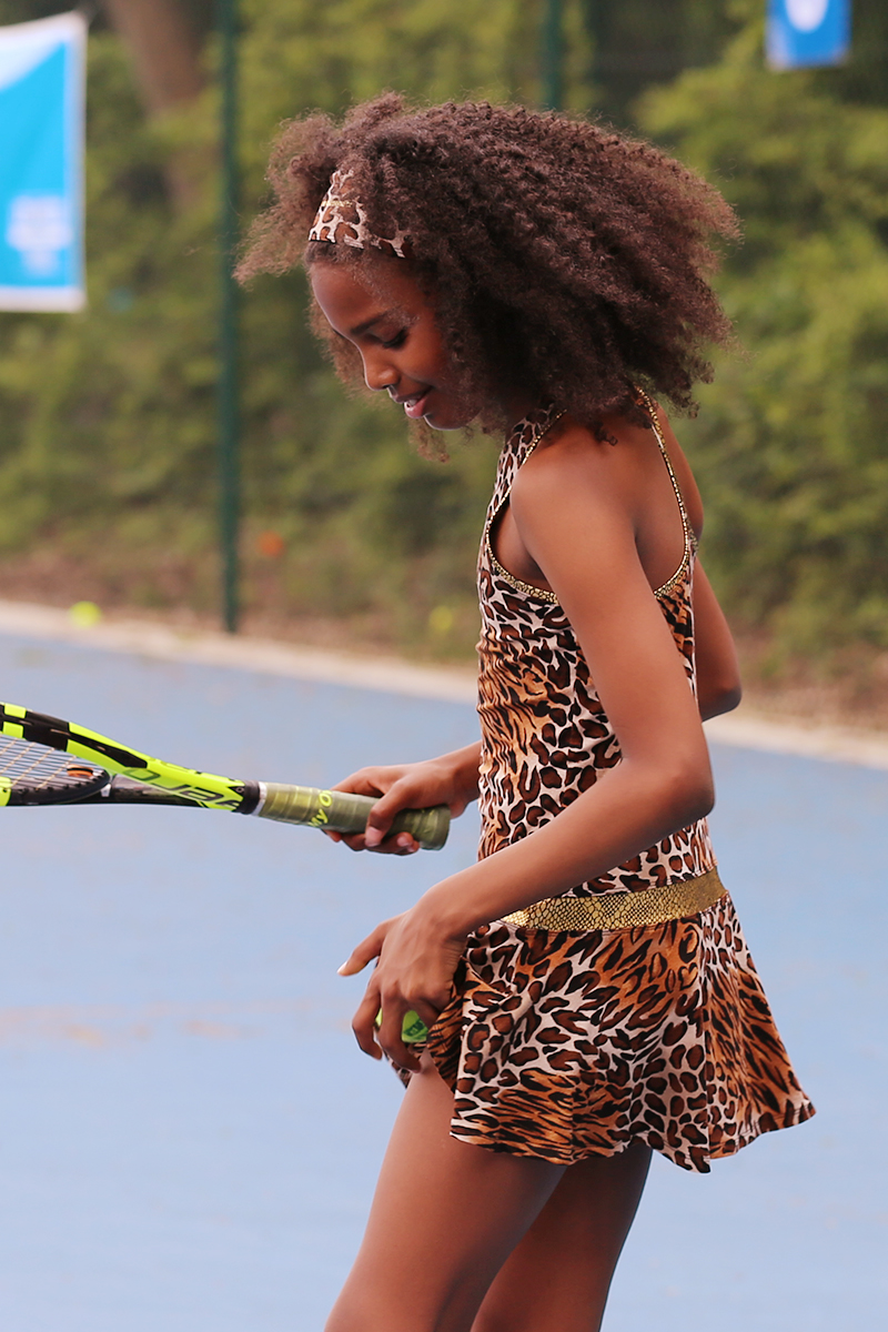 animal print tennis dress inspire jaguar zoe alexander