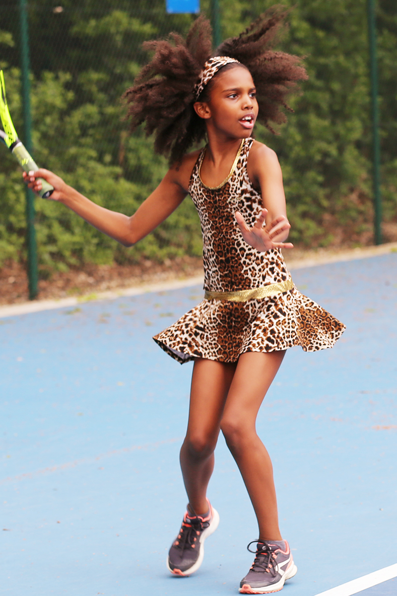 animal print tennis dress leopard zoe alexander uk