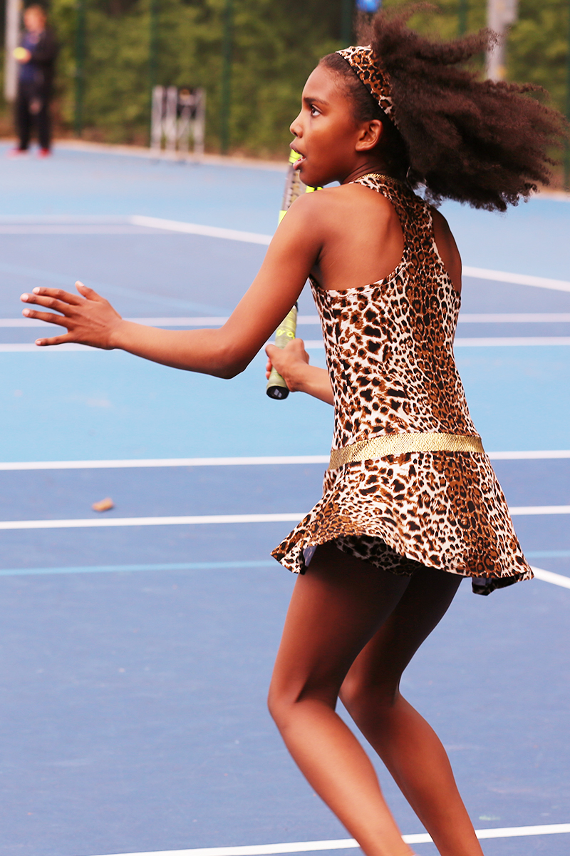 animal print tennis dress leopard by zoe alexander