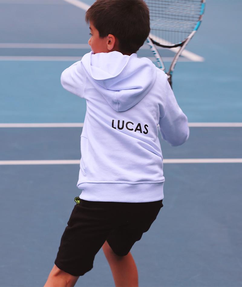 boys tennis hoodies by zoe alexander tennis clothes