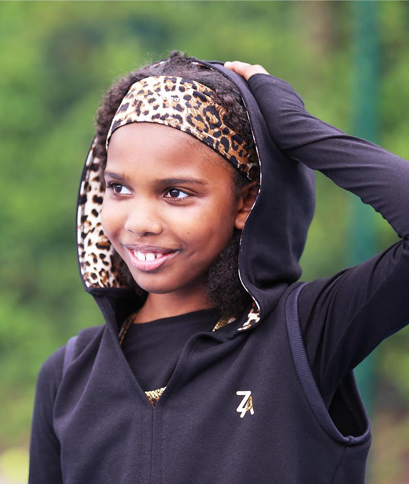 black tennis hoodies girls zoe alexander