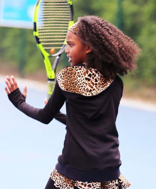 black tennis hoodies for girls zoe alexander