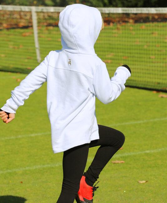 tennis hoodies white for girls zoe alexander tennis