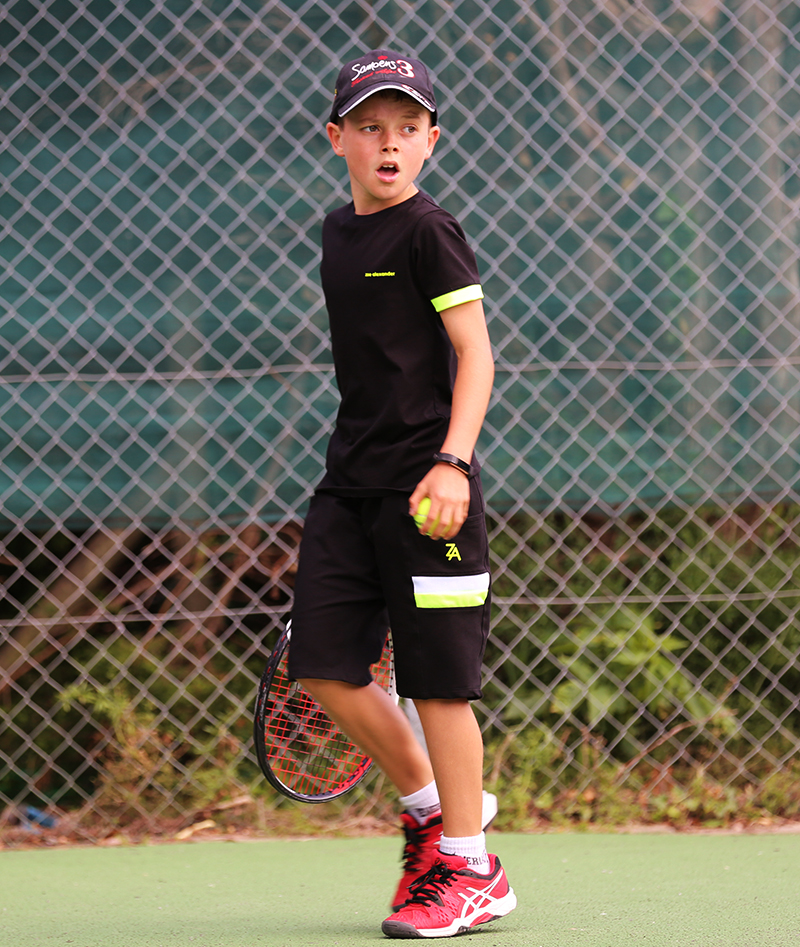 boys black tennis outfit zoe alexander uk