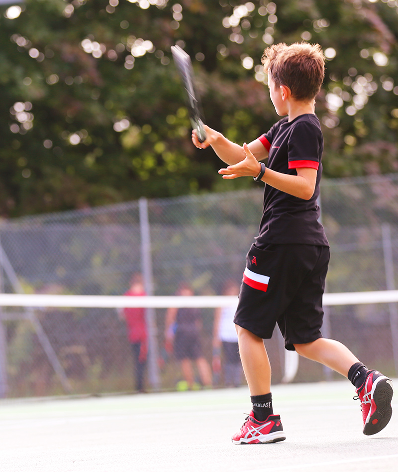 boys tennis outfit red black zoe alexander jake