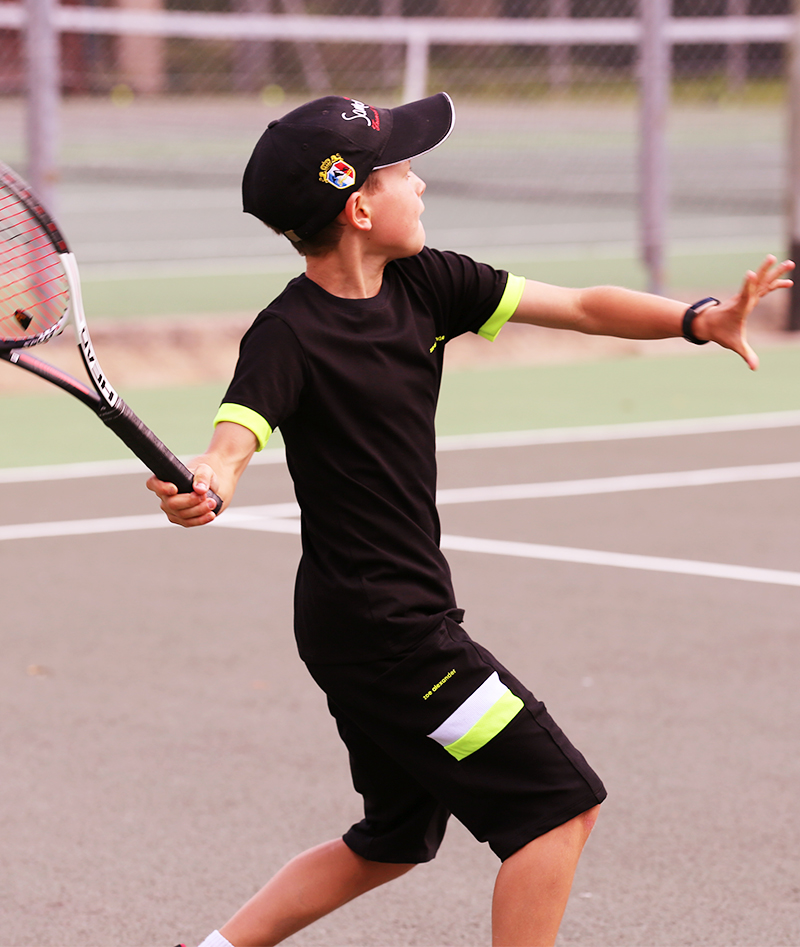 black tennis clothes for boys zoe alexander