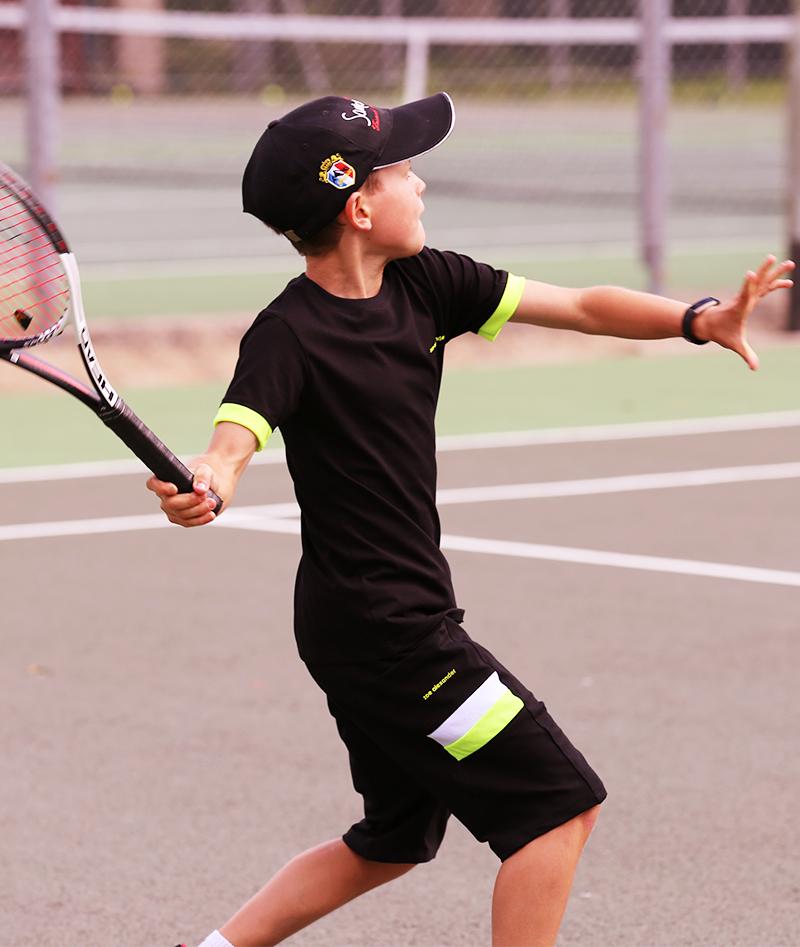 black tennis clothes for boys zoe alexander