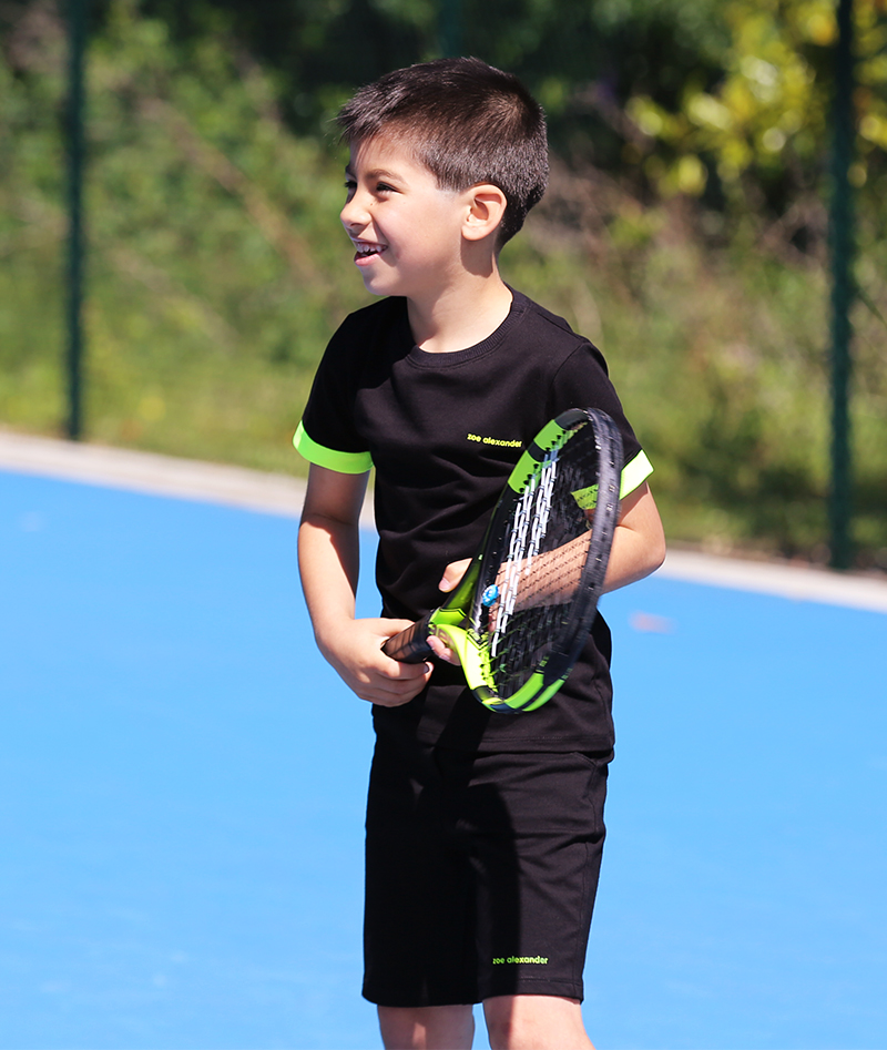 lucas boys tennis clothes zoe alexander black