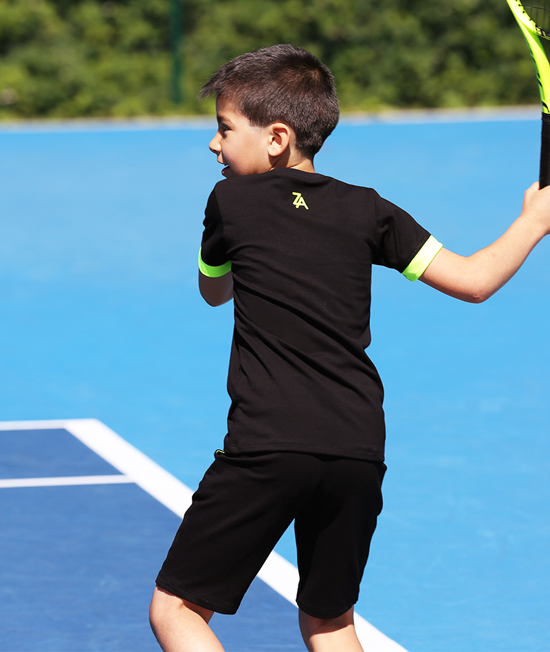 black tennis outfit for boys zoe alexander