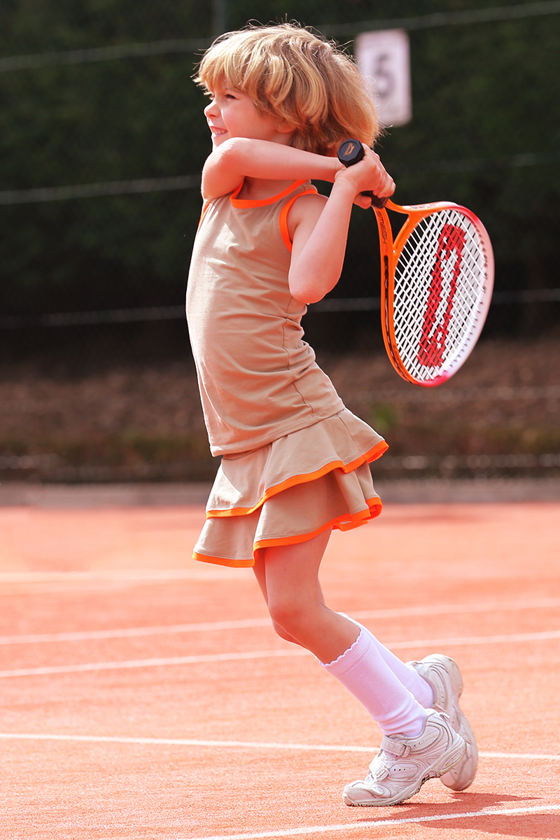mia tennis top and skirt