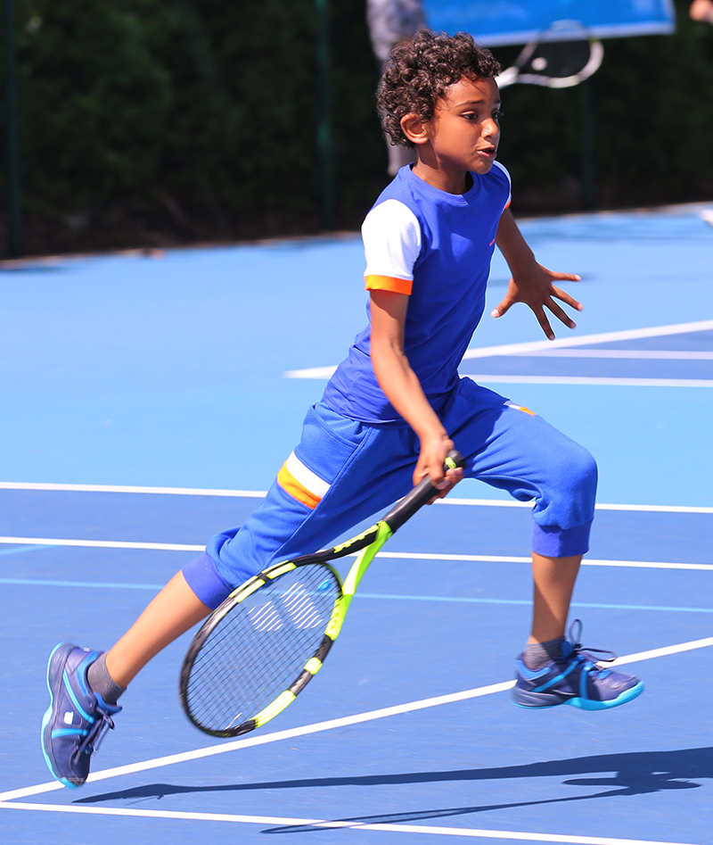 Nick Boys Tennis Outfit - Blue Junior Tennis Apparel By Zoe Alexander