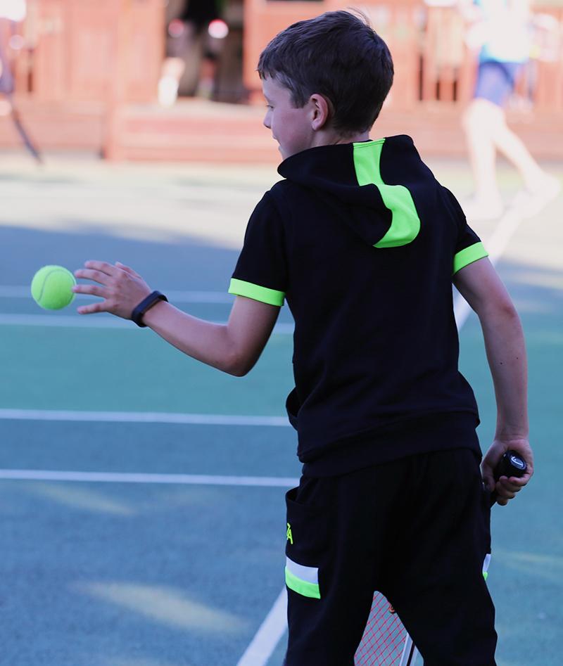 black tennis hoodies outfits from zoe alexander