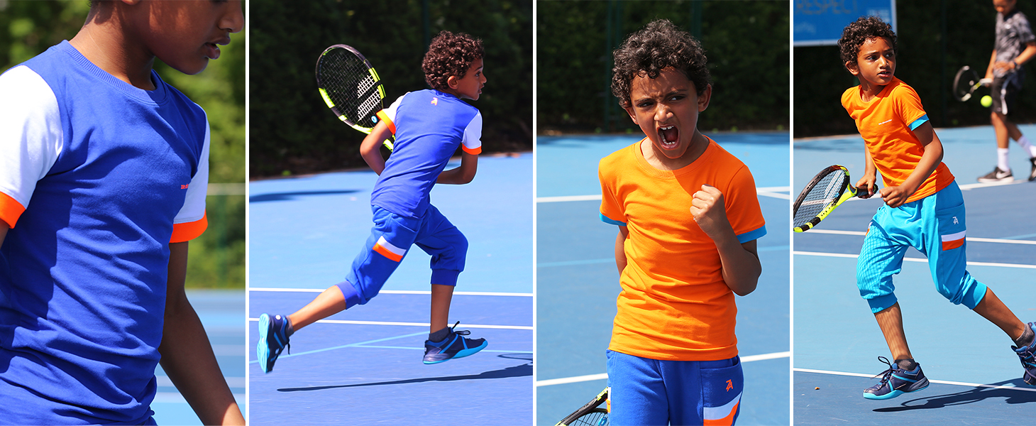 SS17 boys tennis clothes collection from zoe alexander
