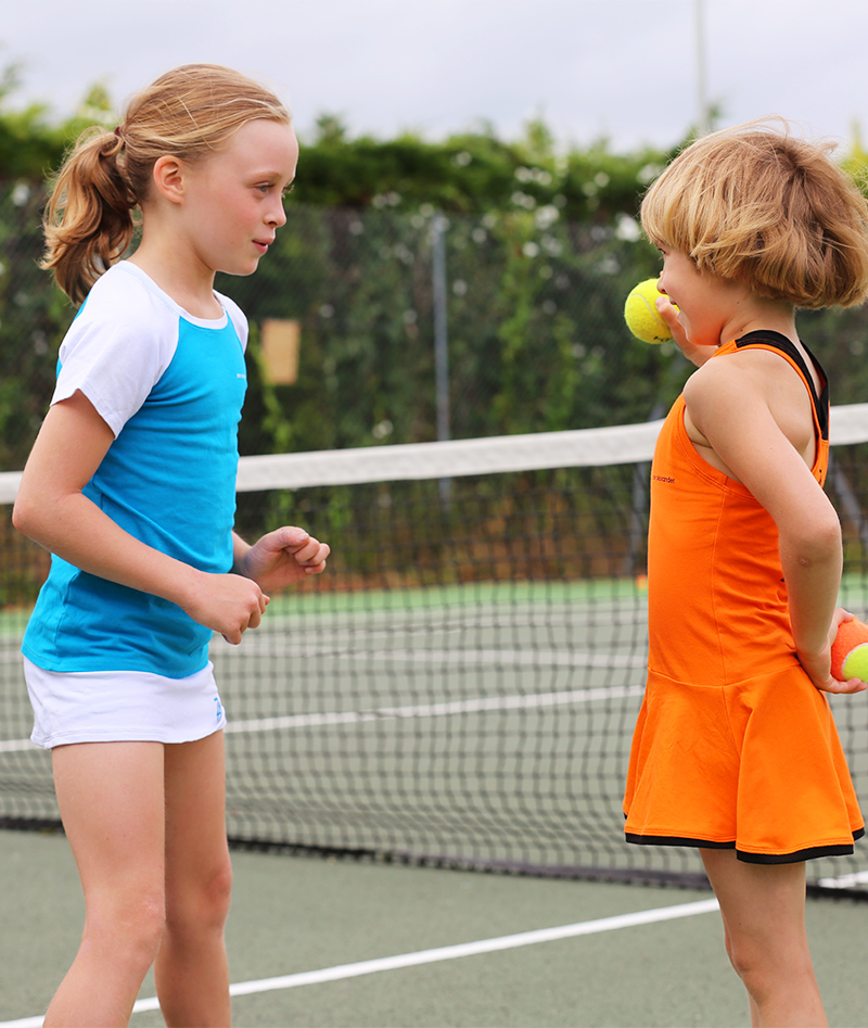 raglan sleeve taylor tennis outfit for girls zoe alexander