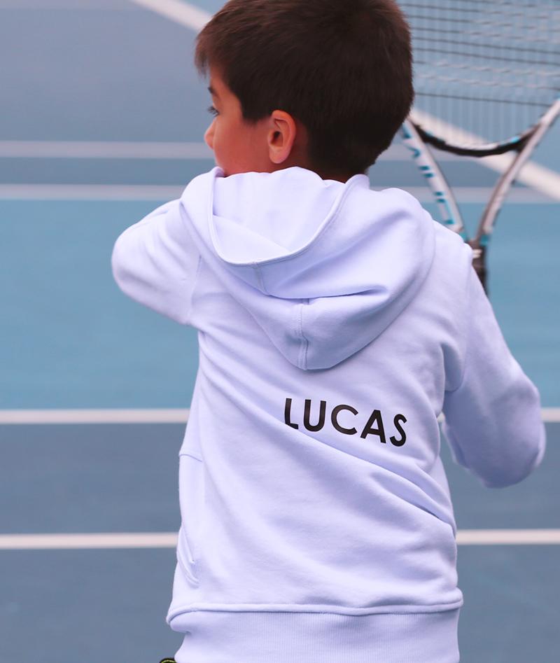 tennis hoodies white for boys zoe alexander uk
