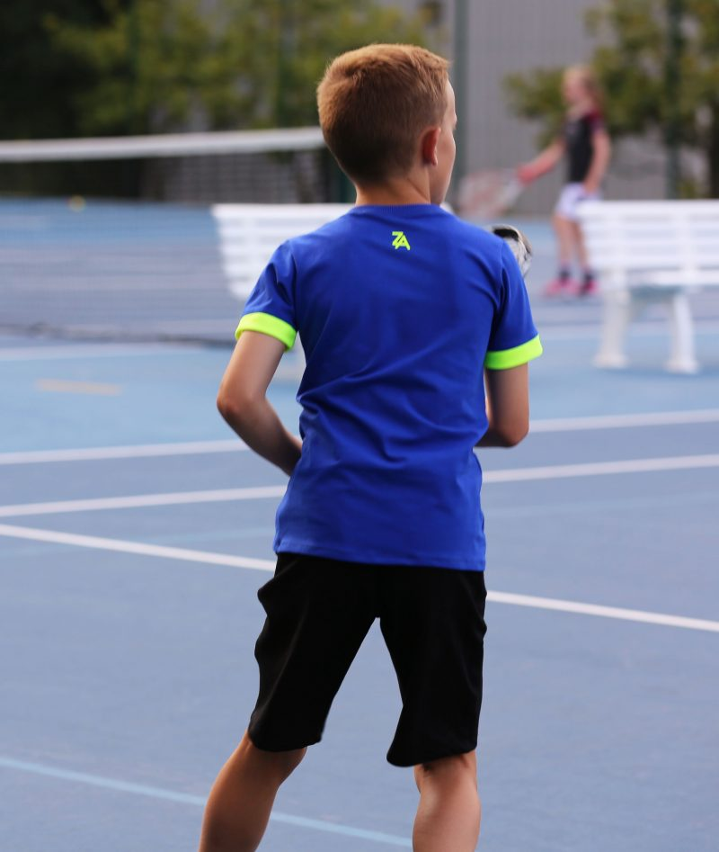 blue tennis top for boys zoe alexander
