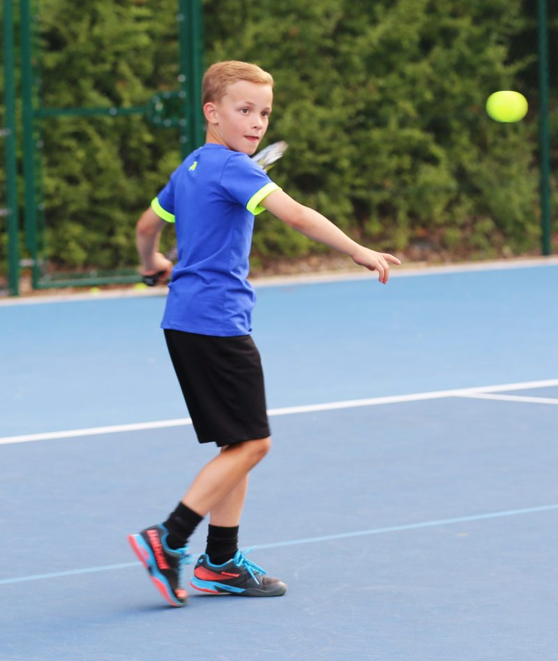 blue tennis tops from zoe alexander boys tennis clothes
