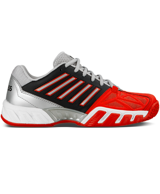 red tennis shoes k-swiss bigshot