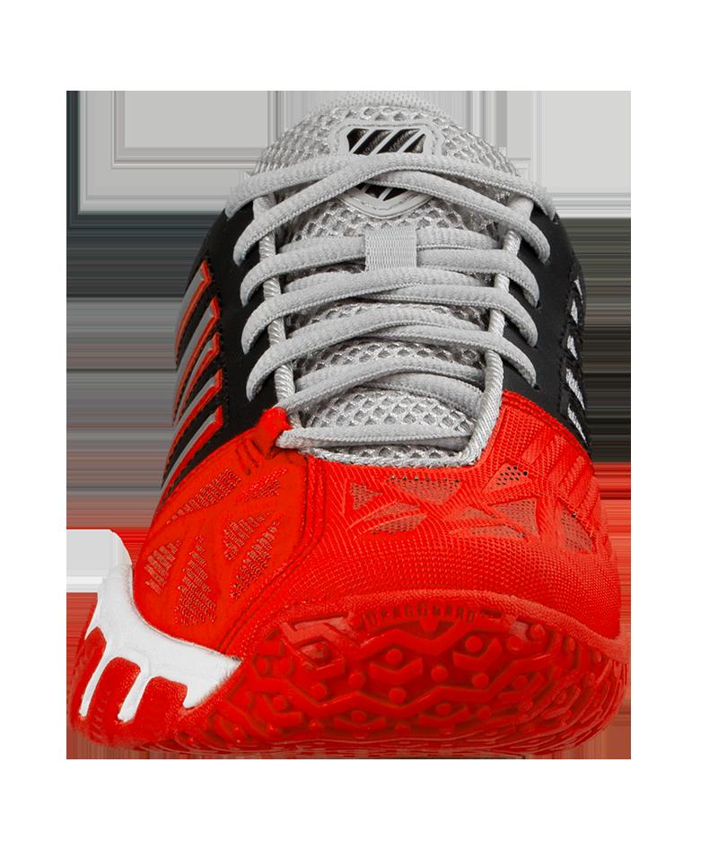red junior tennis shoes k-swiss bigshot light omni zoe alexander