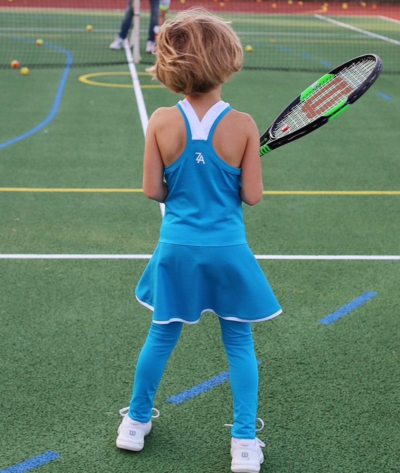 girls tennis dresses blue zoe alexander anastasia