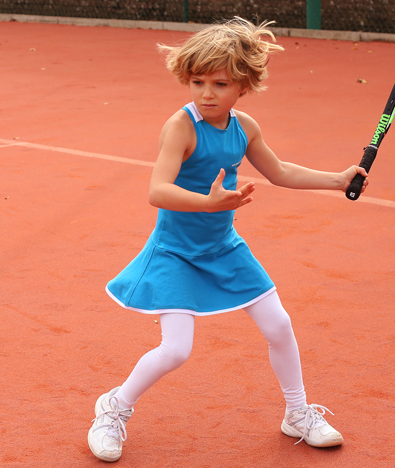 blue tennis dress zoe alexander anastasia girls tennis dresses